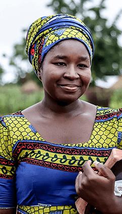 Ghana Woman Holding A Bible